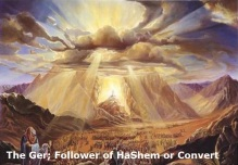 The Ger; Follower of HaShem or Convert Pic A