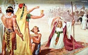 www-St-Takla-org--Abram-and-Melchizedek