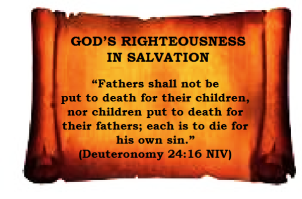 Righteousness in Salvation